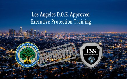 los angeles executive protection training