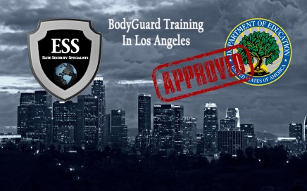 the best bodyguard training in los angeles is executive protection training