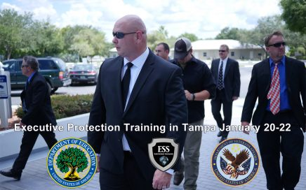 Executive Protection Training in Tampa January 20-22