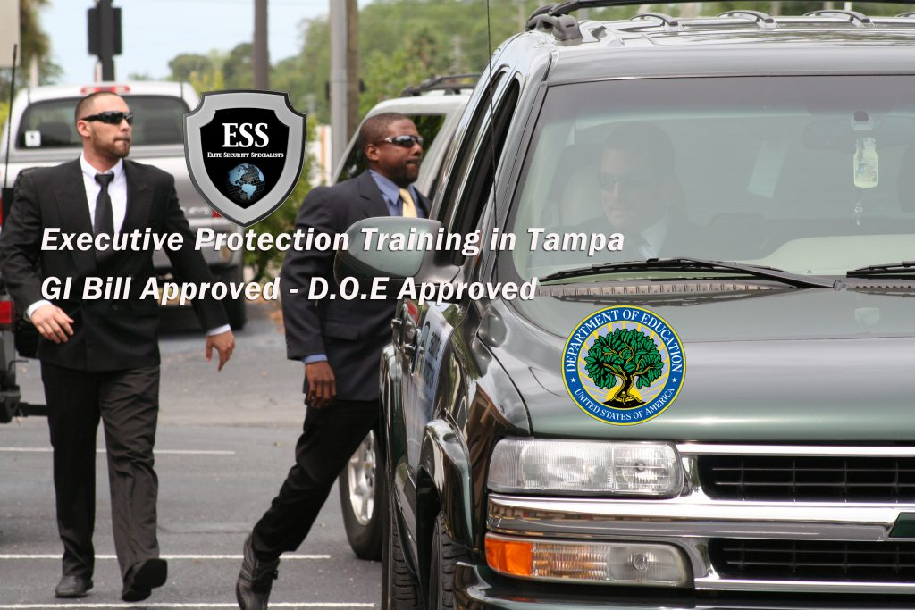 executive protection training in tampa january
