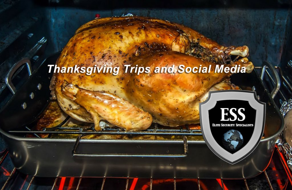 thanksgiving trips and social media