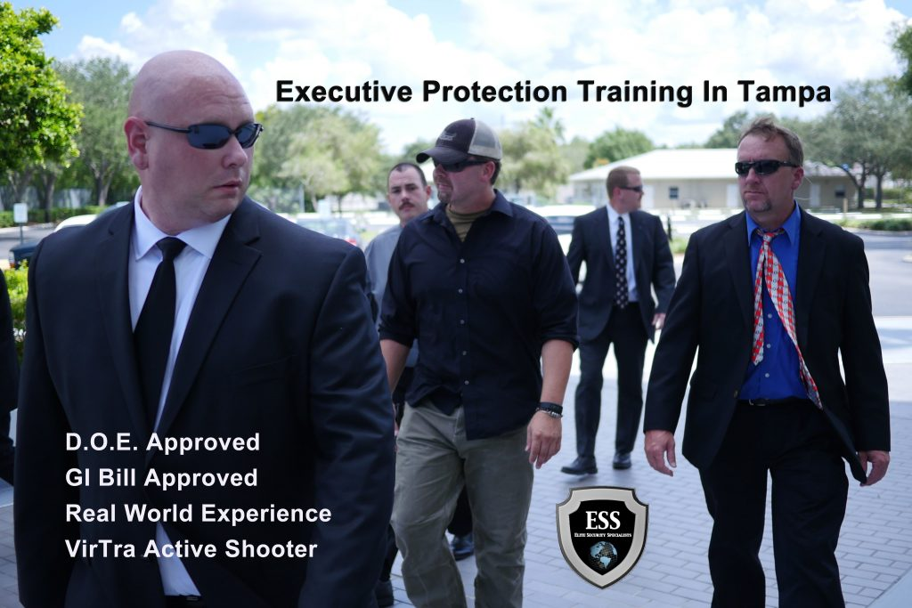 D.O.E. and GI Bill Approved Executive Protection Training