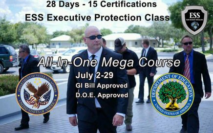 GI Bill Approved Executive Protection Training - The All-In-One