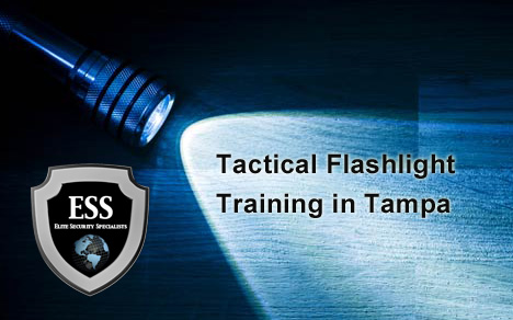 Tactical Flashlight Training at ESS in Tampa