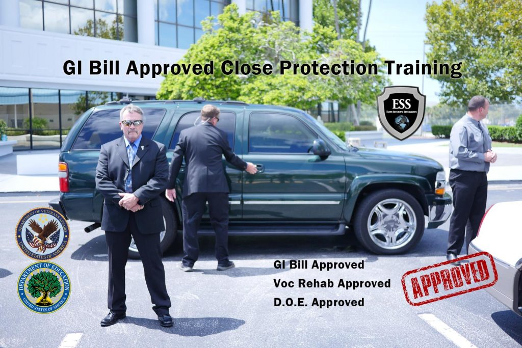 GI Bill Approved Close Protection Training