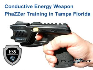 Conductive Energy Weapon Phazzer Training in Tampa May 13 - Get Certified