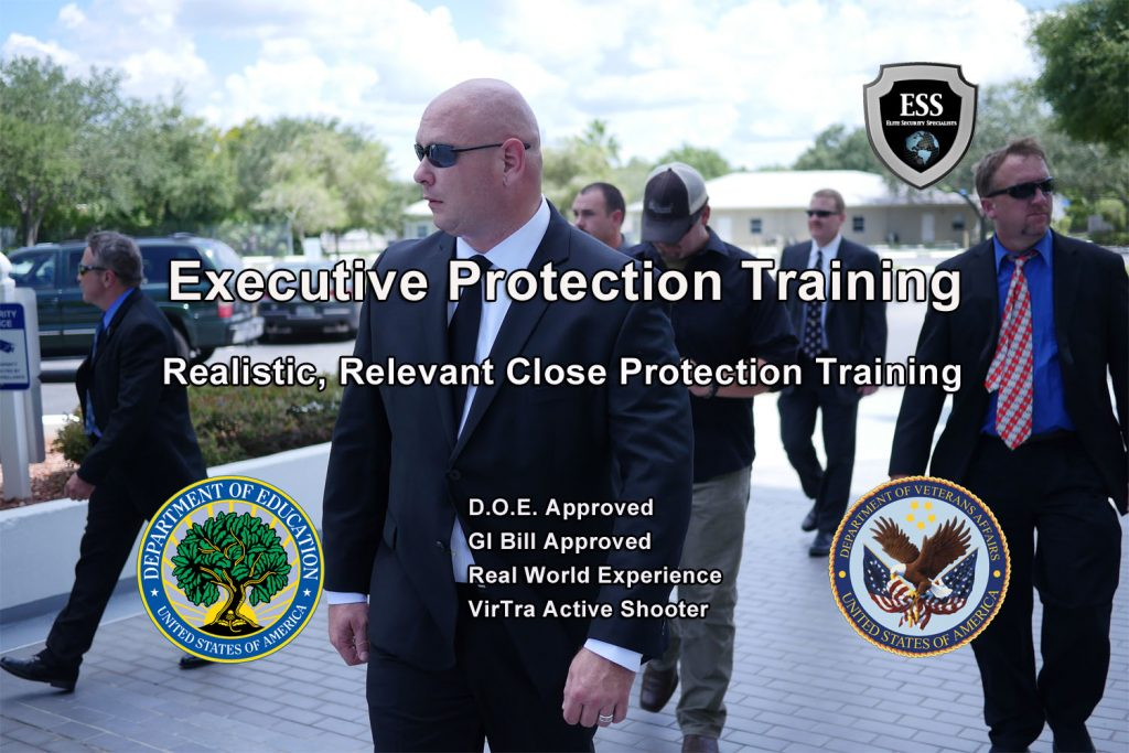 Executive Protection Training - Realistic and Relevant