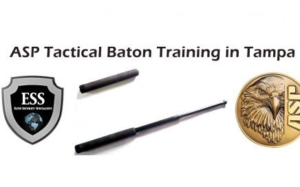 ASP tactical baton.traning in Tampa Bay
