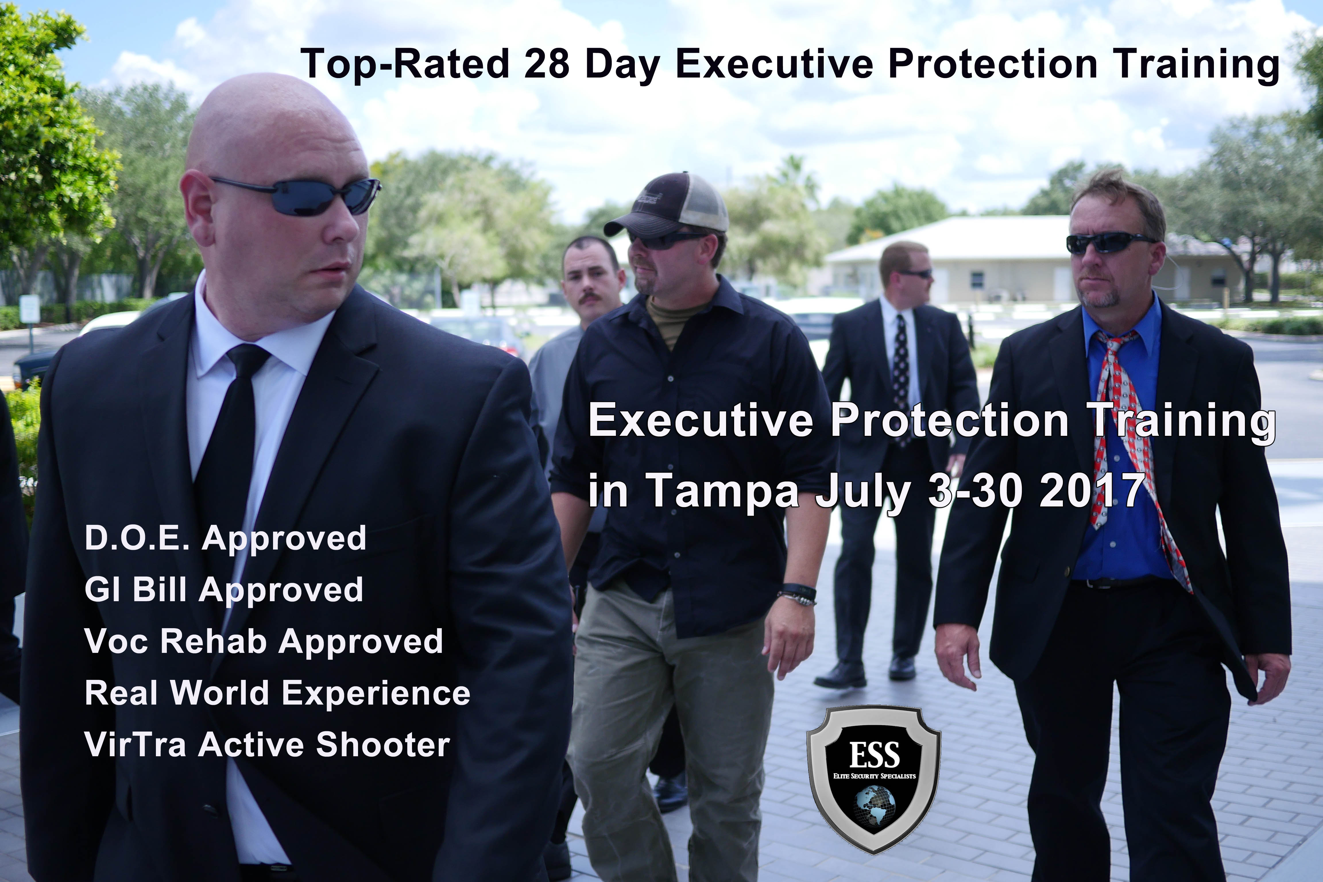 Executive protection training in tampa july 3 30 floridas only executive protection training in tampa july 3 30 1betcityfo Gallery