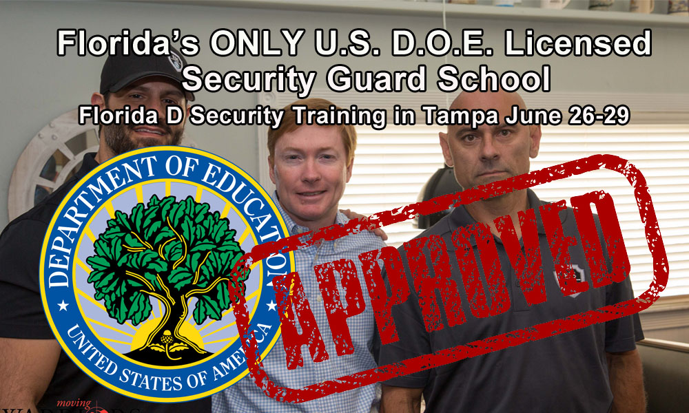 Florida D License Class in Tampa June 26-29