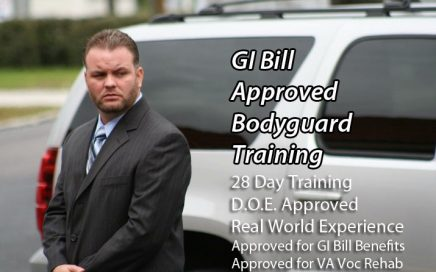 GI Bill Approved Bodyguard Training