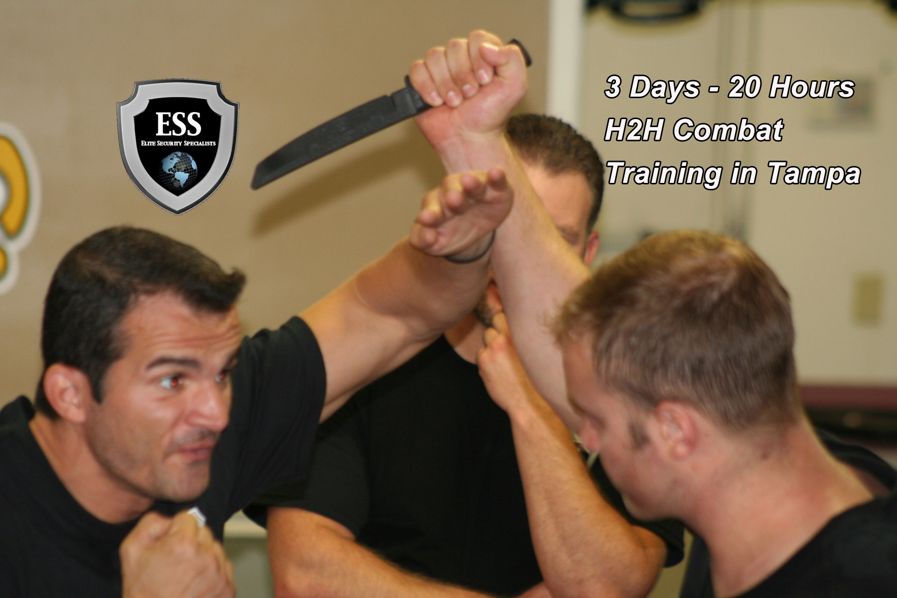 Defensive Tactics Training in Tampa September 21-23 20 Hours - $300