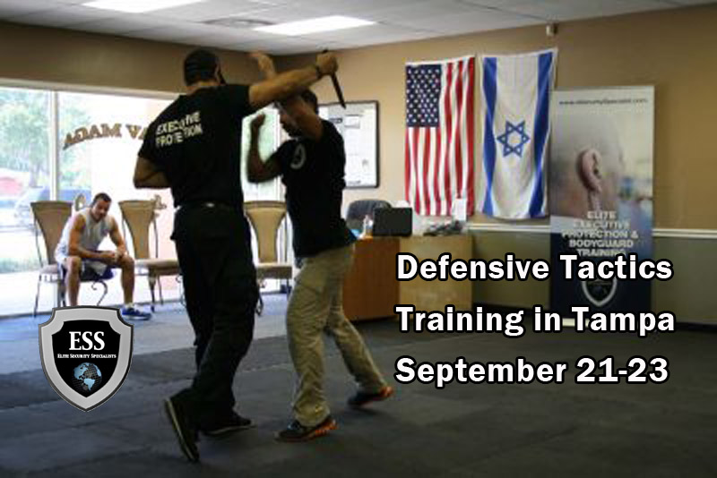 Defensive Tactics Training in Tampa September 21-23