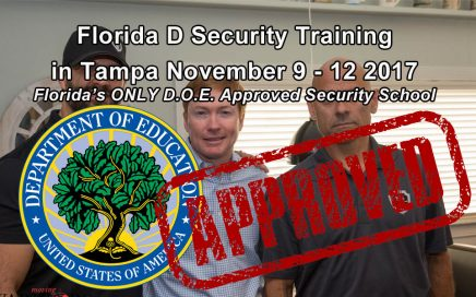 Florida D License Class in Tampa November 9-12