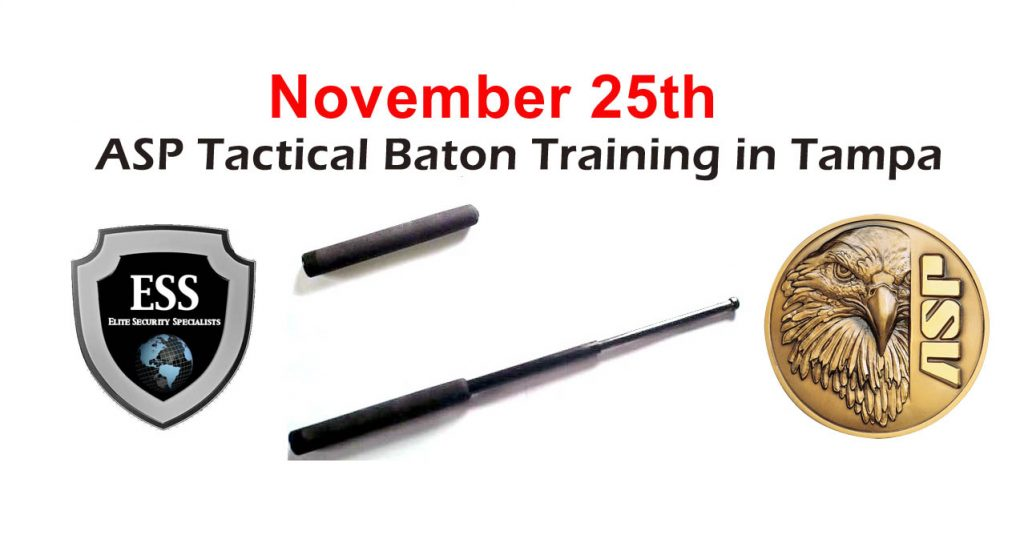 ASP Tactical Baton Training in Tampa November