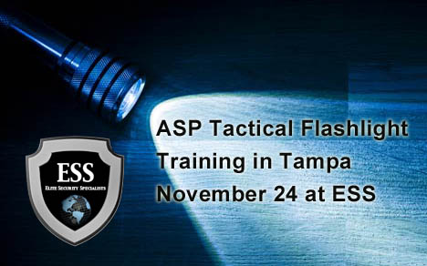 ASP Tactical Flashlight Training in Tampa Bay November 24