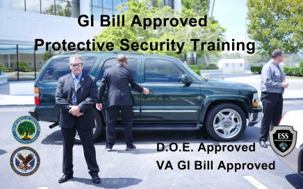 GI Bill Approved Protective Security Training