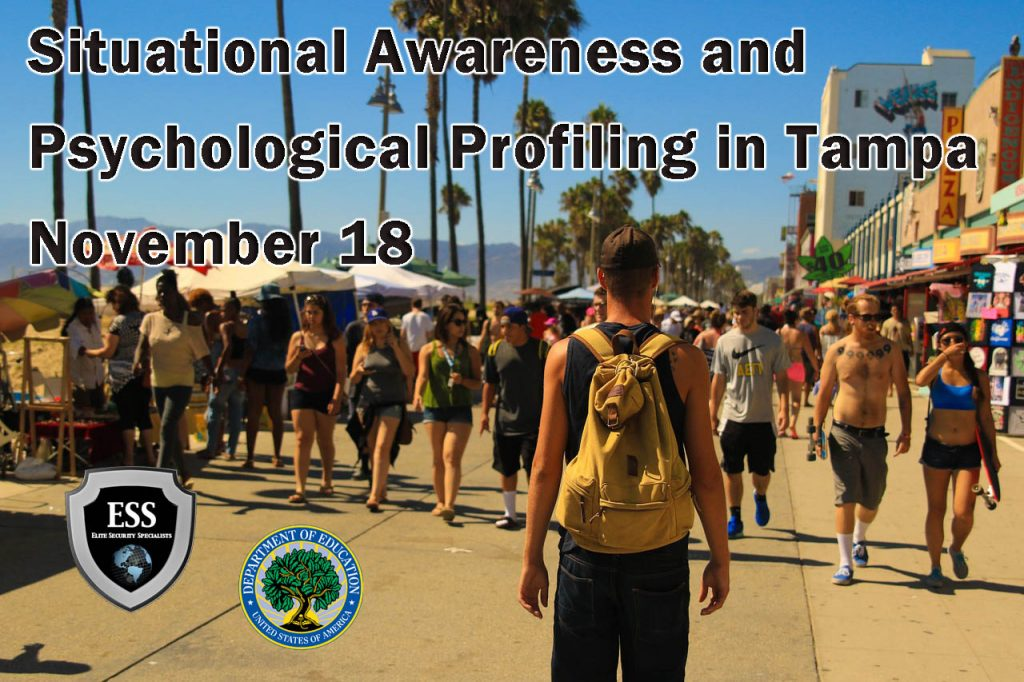 Situational Awareness and Psychological Profiling in Tampa November 18
