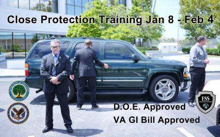 Close Protection Training January