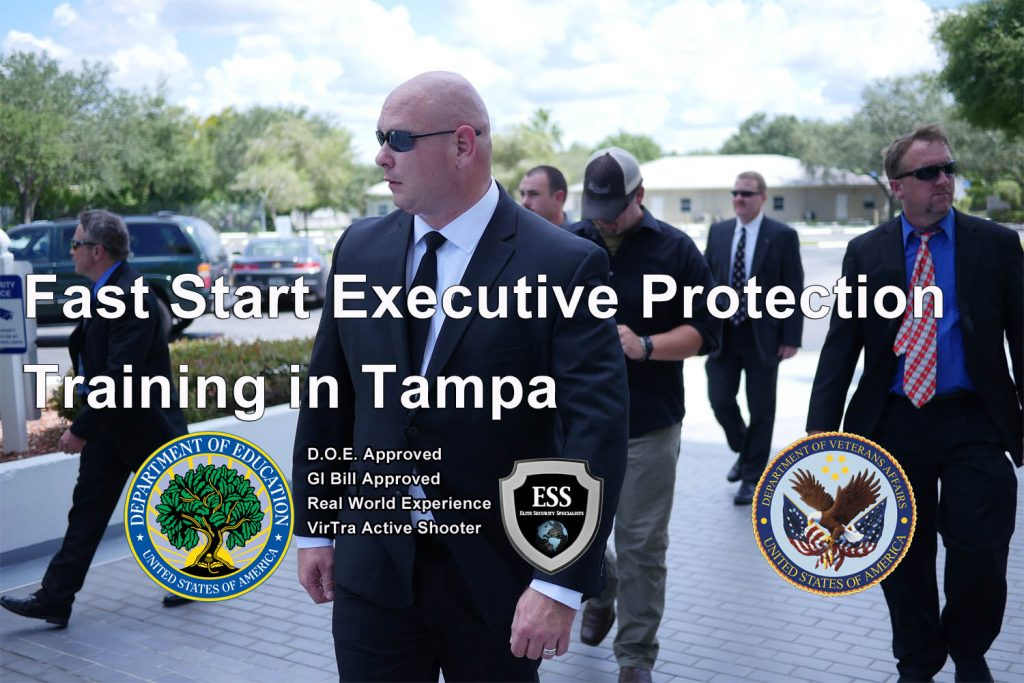 Florida Executive Protection Training - 3 Day Fast Start