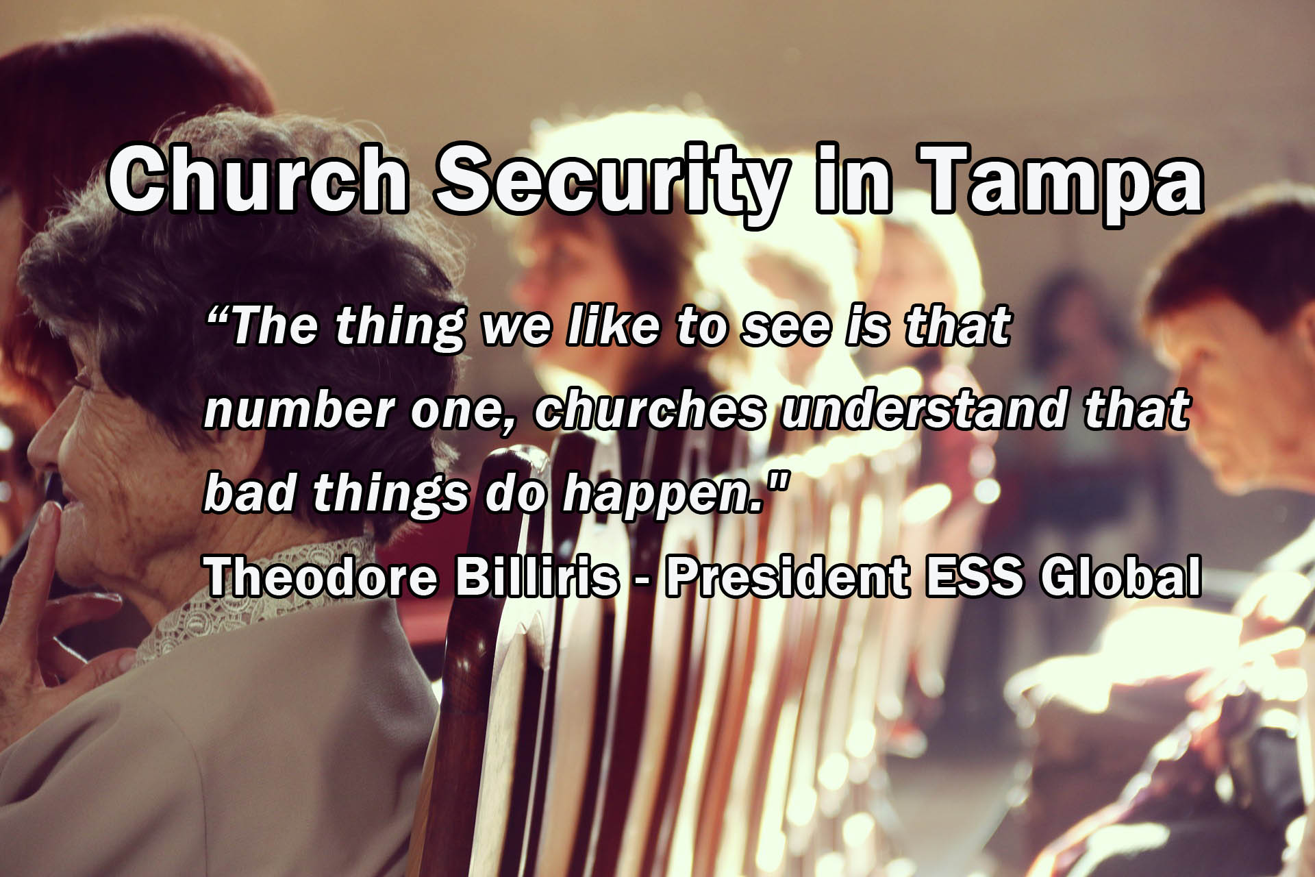 Church security in tampa ess global corp 1betcityfo Gallery