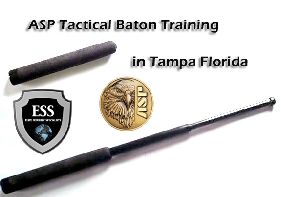 Tactical Baton ASP Certification Class in Tampa February 1 at ESS Global Corp