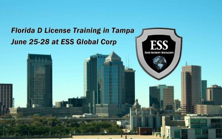 Class D Security Training in Tampa