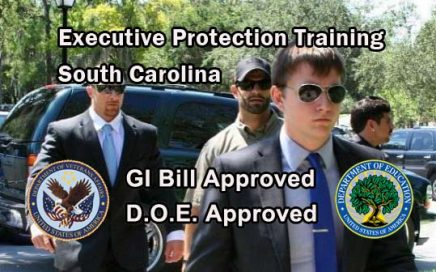 GI Bill Approved Executive Protection Training - South Carolina