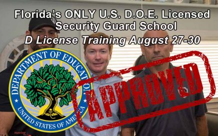 Florida Class D License Training in Tampa August