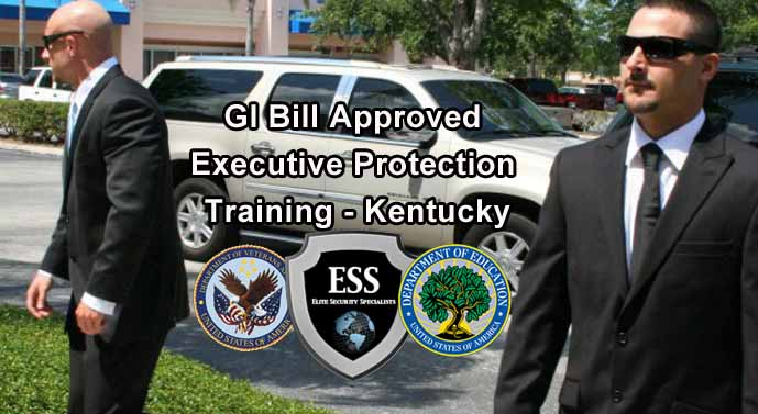 GI Bill Approved Executive Protection Training - Kentucky