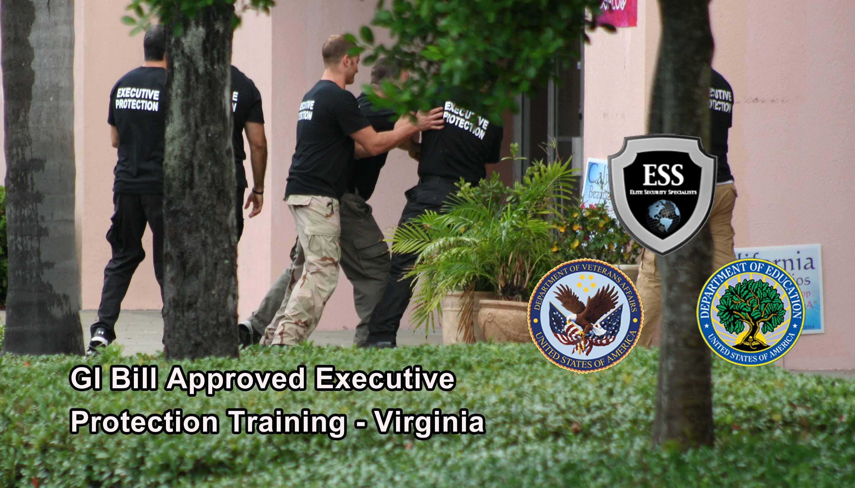 GI Bill Approved Executive Protection Training - Virginia