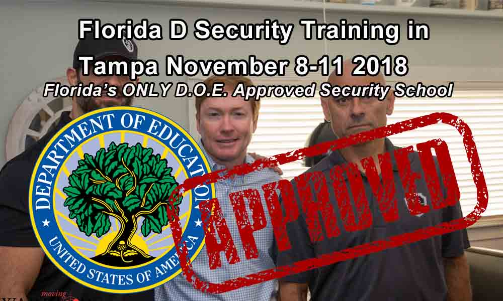 Florida Class D License Training in Tampa NOVEMBER
