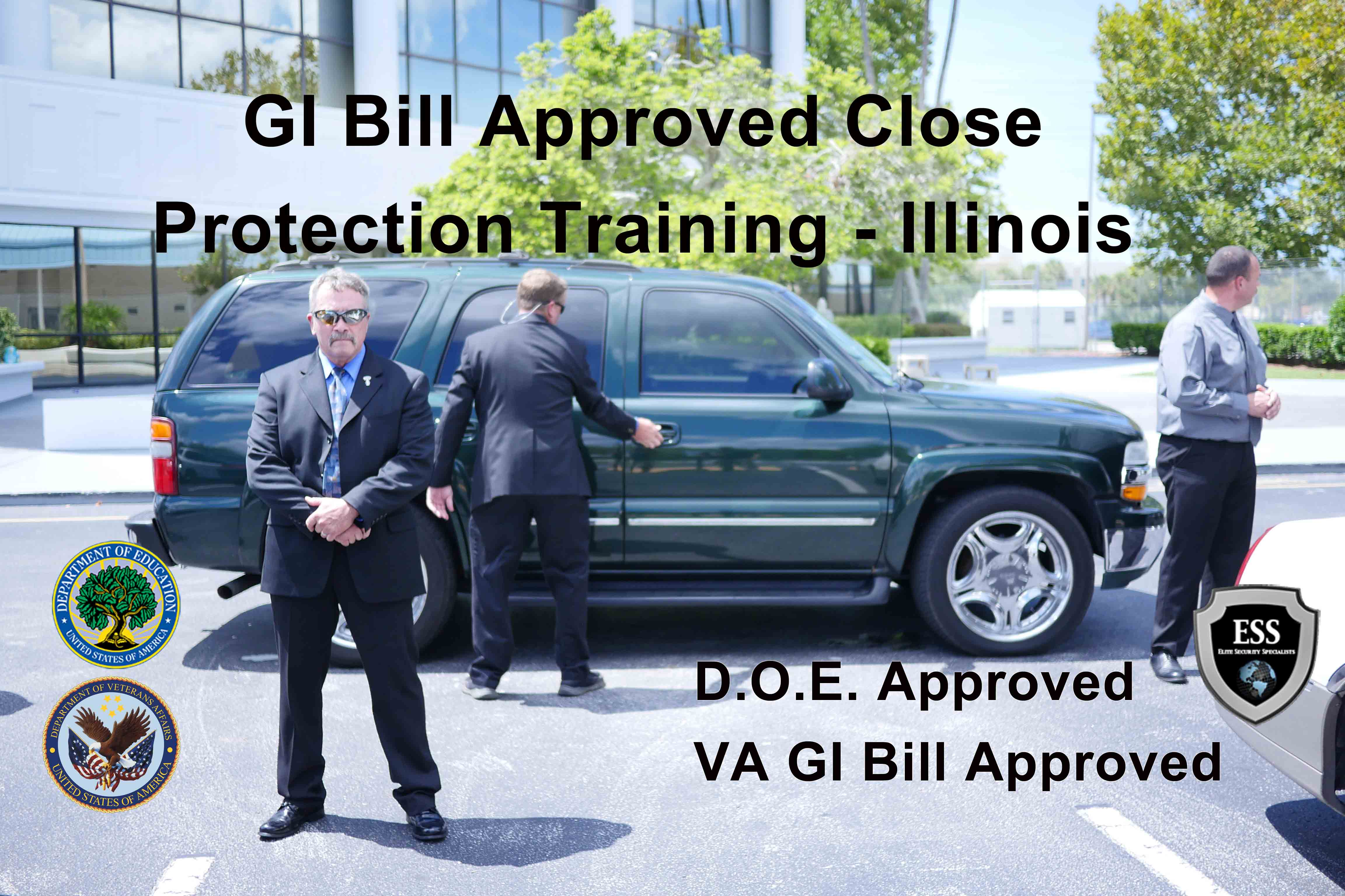 GI Bill Approved Bodyguard Training - Illinois