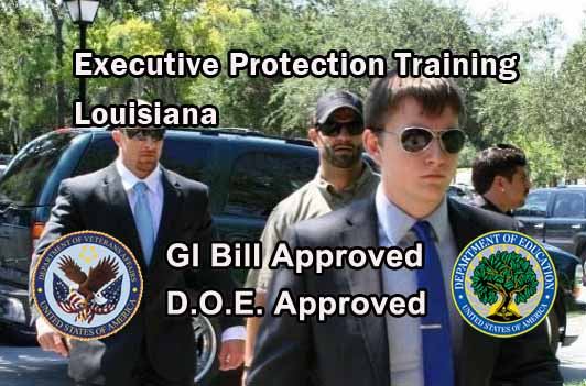 GI Bill Approved Bodyguard Training - Louisiana