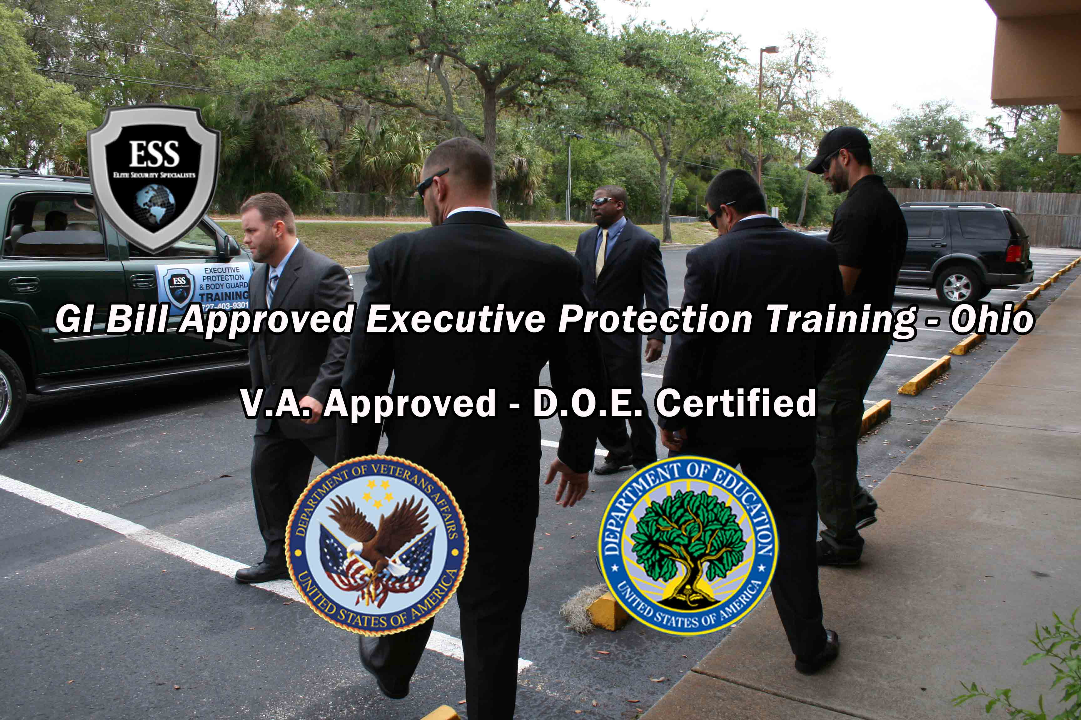 Gi Bill Approved Executive Protection Training Ohio Ess Global Corp