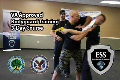 Gi Bill approved bodyguard training - Louisiana - 3-day