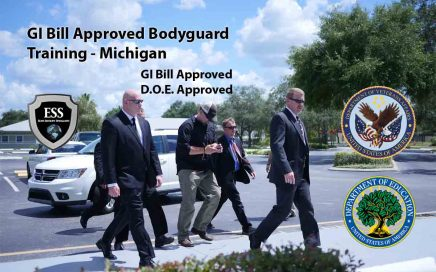 GI Bill Approved Bodyguard Training - Michigan