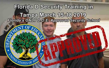Florida Class D License Training in Tampa MARCH15_18