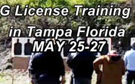 Florida Class G Security License Training - Tampa