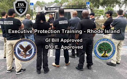 GI Bill Approved Executive Protection Training - Rhode Island