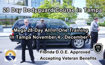28 Day Bodyguard Training in Tampa