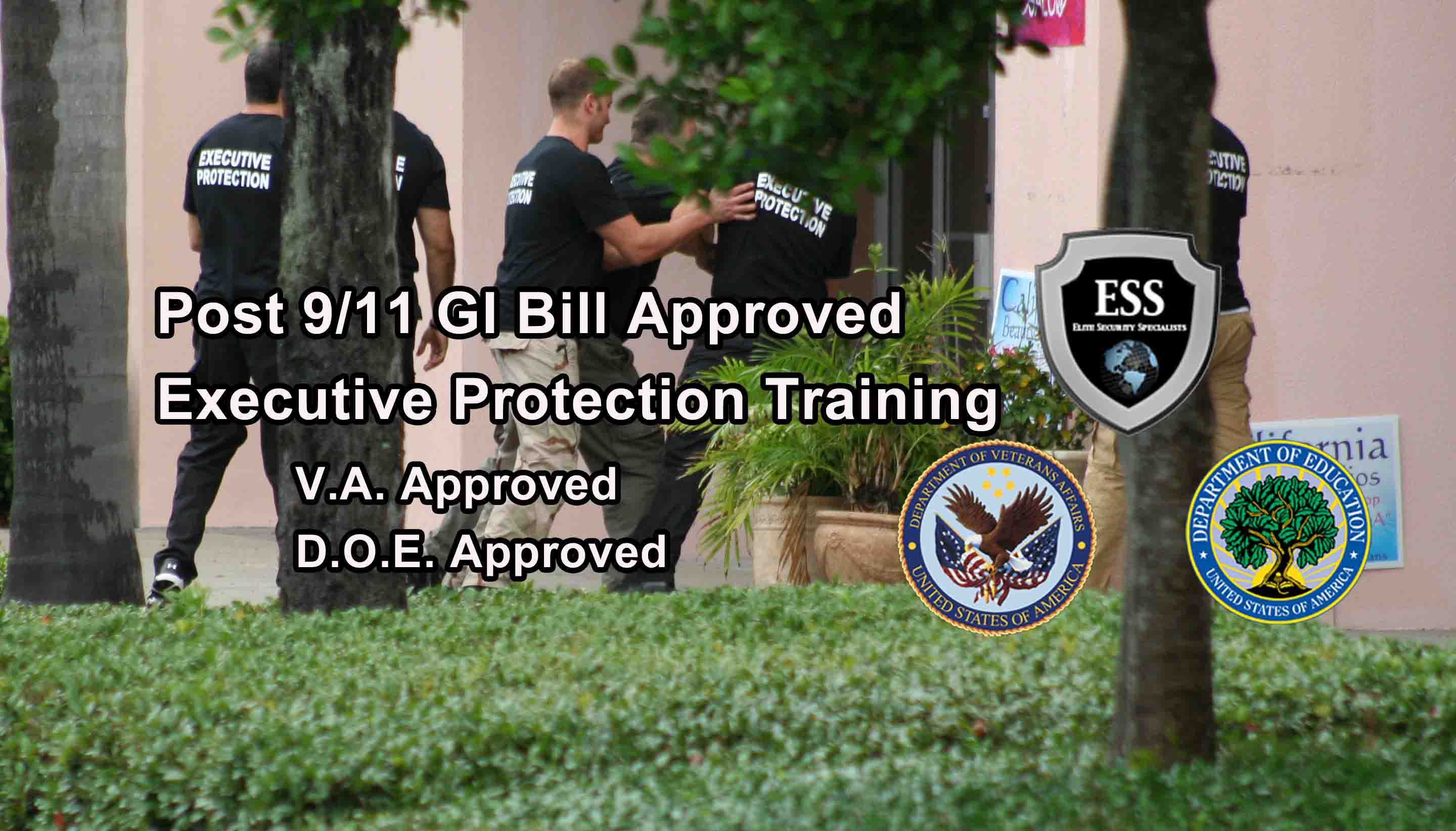 Post 9/11 G.I. Bill Bodyguard Training