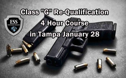 "Class ""G"" Re-Qualification 4 Hour Course in Tampa"