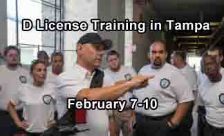 Florida D Security License Training in Tampa FEB 2020